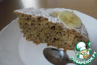 Тортик бананово-ореховый к завтраку