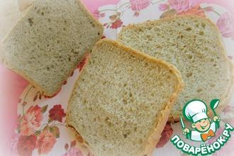Пшеничный хлеб с крапивой