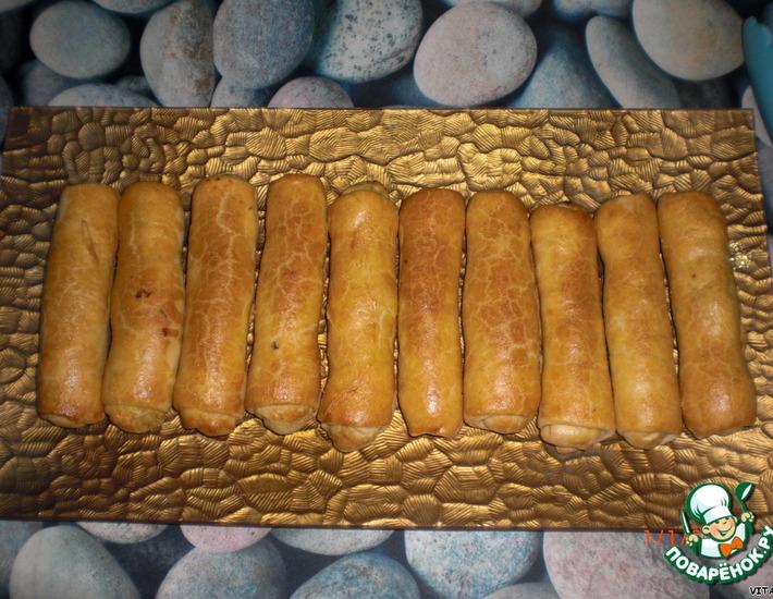 """Пирожки с капустой """"Сигары"""""""