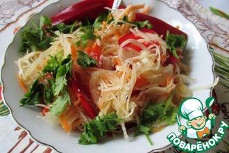 Овощной салат в маринаде