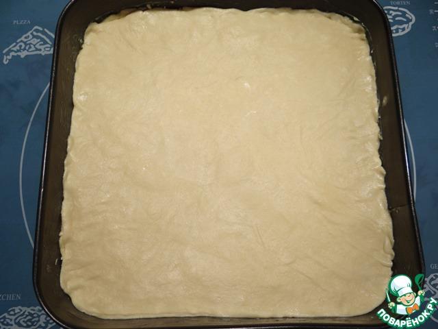 Самый верхний слой теста сливочным маслом не смазываю!