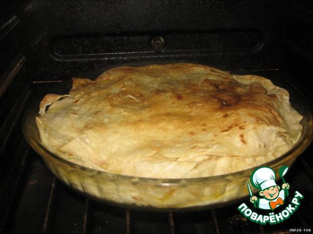 Ставим в горячую (200 градусов) духовку на 20 минут.