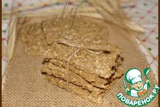 Хлебцы из полбовой муки с отрубями