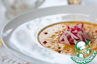 Кукурузный суп с крабовыми палочками