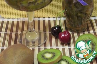 Варенье из киви с белым вином