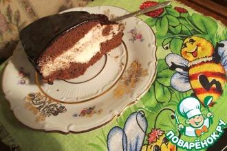 Замороженный шоколадный торт