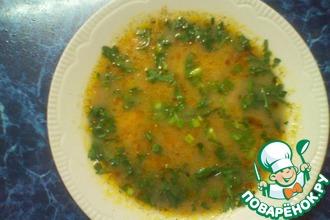 Сырный суп с гречкой и шампиньонами в мультиварке