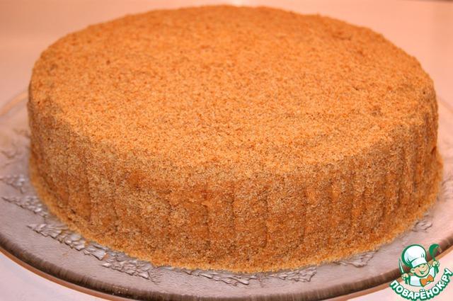 Готовый торт украсить по своему вкусу. Мне он понравился и без украшения.