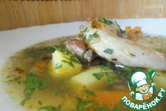 Быстрый и легкий перепелиный суп