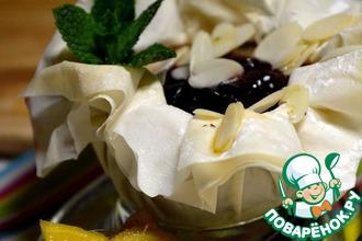 Десертные яблочки в хрустящем Фило с клюквенной начинкой от D'arbo