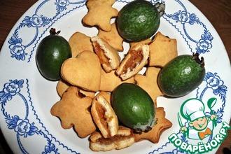 Печенье с джемом из фейхоа