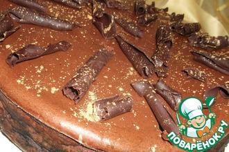 """Шоколадно-творожный пирог """"Наслаждение"""""""