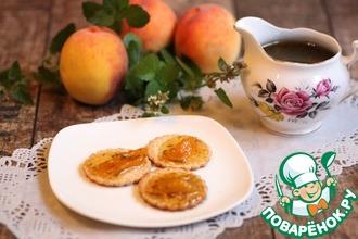 Варенье из персиков с мелиссой