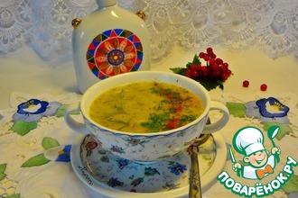 Суп из брокколи с грушей