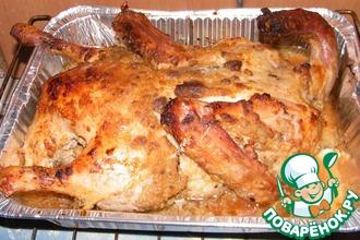 Запеченная утка, гусь, курица
