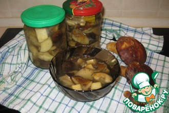 Польские грибы маринованные
