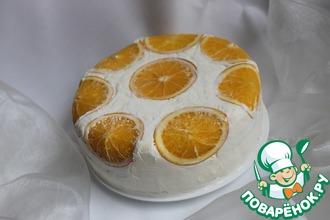 """Торт """"Апельсиновая нежность"""" для Ларисы"""