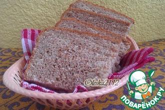 Диетический отрубной хлеб