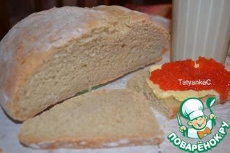Кисломолочный хлеб с семолиной