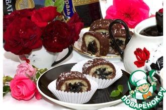Шоколадно-кокосовые рулетики с медовым рисом