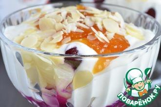 Десерт «Легкость с Darbo »