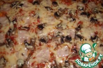 """Еще один вариант приготовления """"Пиццы"""""""