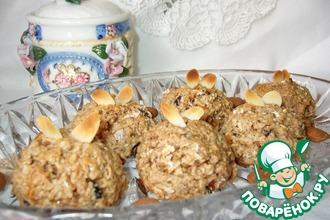 Овсяно-миндальное печенье на кокосовом молоке