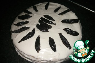 Тортик из домашних вафель
