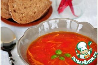 Куриный суп с чечевицей по мотивам Шороба Адас