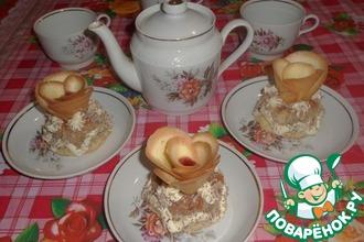 Пирожное «Розы Джоконды»