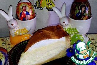 Творожный пирог на Пасхальный стол