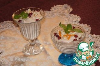Творожный десерт с абрикосовым джемом D'arbo