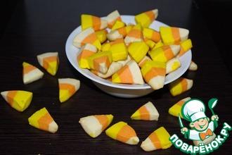 "Печенье ""Сладкая кукуруза"" для Хэллоуина"