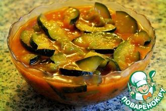 Тушеные овощи в томатном соусе с паприкой