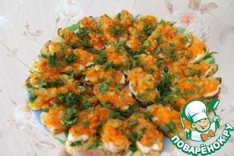Кабачки с овощами по бабушкиному рецепту
