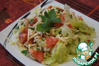 Мексиканский салат с бананами