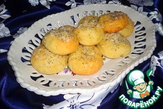 Творожные булочки в апельсиновом сиропе