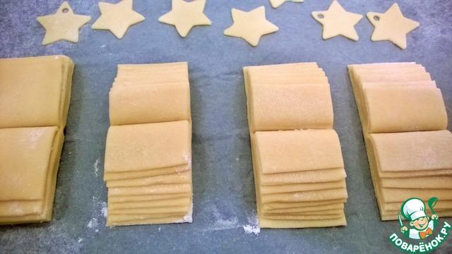 Помещаем изделие на пергамент. Выпекать при температуре 180 гр. 15-20 минут, до золотистого цвета.   При выпечке, печенье, превратится в развернутую книгу. Если вы сделали все правильно!!!