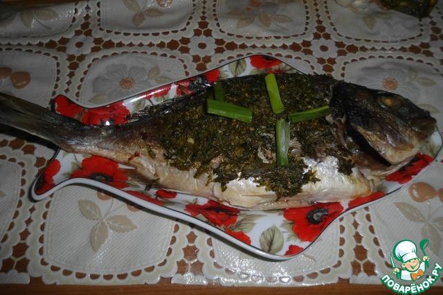 7. Ну вот и готова вкуснейшая рыбка. Гарнир придумайте сами.    ПРИЯТНОГО АППЕТИТА!