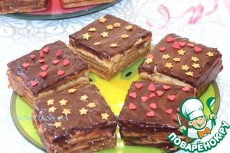 "Торт ""Сникерс"" без выпечки за 20 минут"
