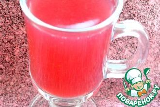 Ежевично-вишнево-клубничный кисель