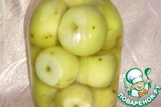 Яблоки консервированные
