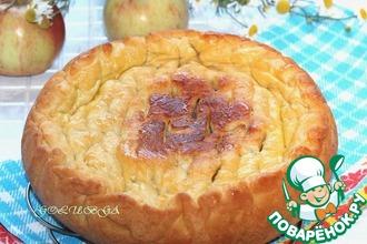 Пирог с картофелем и грибами в мультиварке