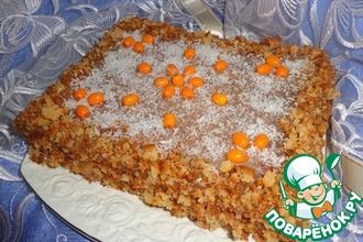 """Торт """"Облепиховое наслаждение"""""""