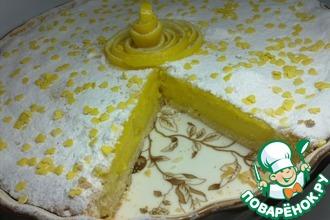 Пирог лимонно-манговый