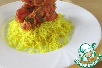 Сливочно-томатная курица в индийском стиле