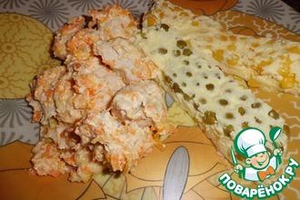Курица в сырно-сметанном соусе