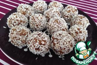 Десертные шарики из сухофруктов