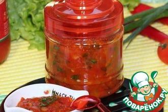 Чесночно-томатный чатни