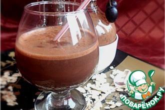 Горячий шоколад-напиток из какао с геркулесом